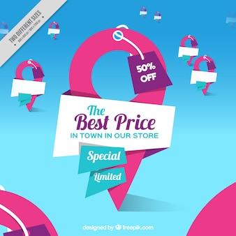 Melhores preços fundo