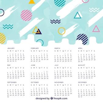 Memphis 2018 calendário