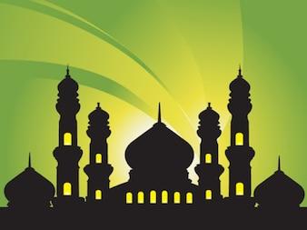 mesquitas fundo abstrato