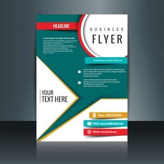 modelo de brochura moderna