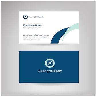 Modelo de cartão de nome profissional