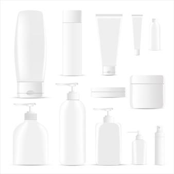 Modelo de coleta de cosméticos