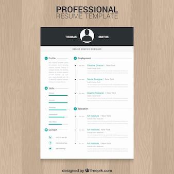 Modelo de currículo profissional