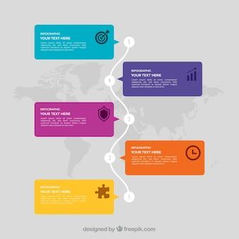 Modelo de infografia internacional