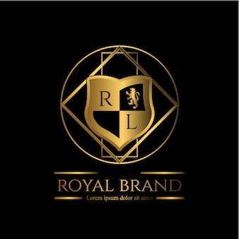 Modelo de logotipo elegante