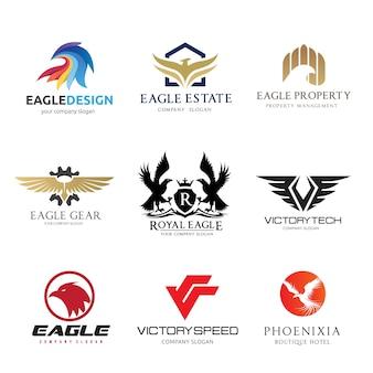 Modelo de logotipo vetorial