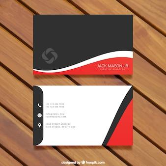 Modelo do cartão de visita