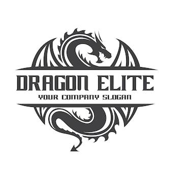 Modelo do logotipo do dragão.