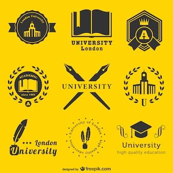 Modelo logos universitários