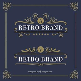 modelos de logotipo retro