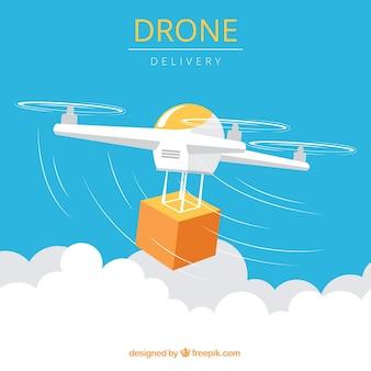 Moderno drone withcarton box