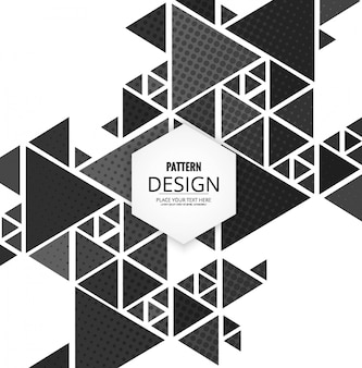 Moderno poligonal abckground