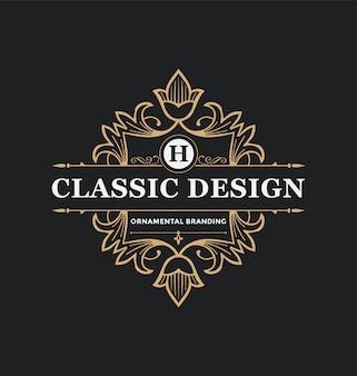 Molde abstrato do logotipo