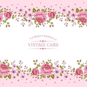 Molde floral rosa