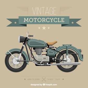 Motocicleta do vintage