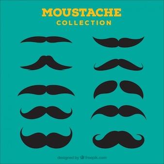 Moustache Ícone Colecção