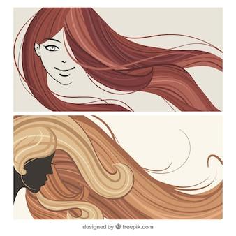 Mulher penteados
