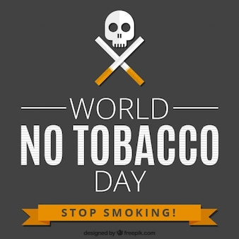 Mundial sem fundo dia tabaco
