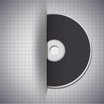 Música, disco, metalic, fundo