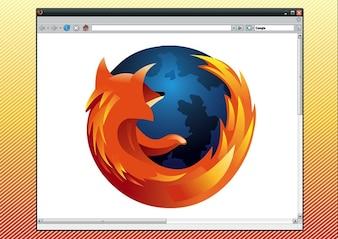 navegador firefox gráficos logotipo