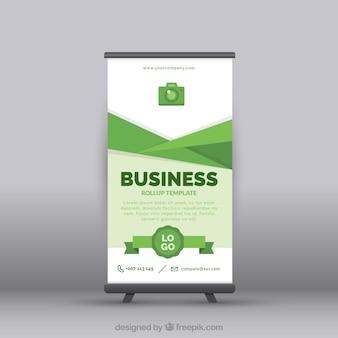 Negócio verde para cima