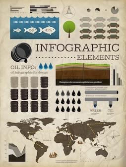 Negócios elemento ícone do mapa template