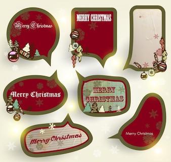 Notar infantil álbum de recortes de papel do Natal