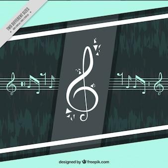 Notas musicais fundo
