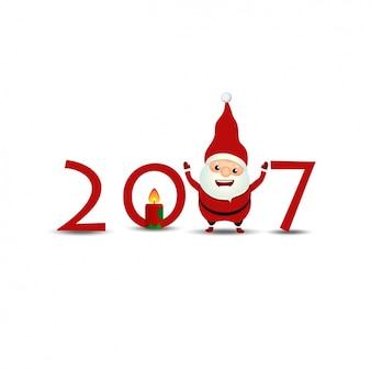 Novo design do fundo do ano