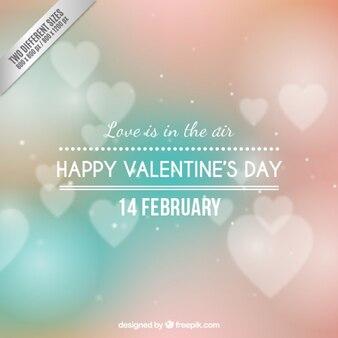 O amor está no ar branco