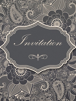 O aniversário do victorian do convite bonito comemora