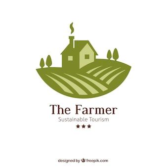 O logotipo agricultor