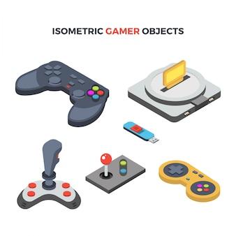 Objetos de jogo isométricos