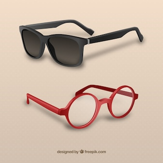 Óculos 3d modernos