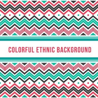Origem étnica colorido