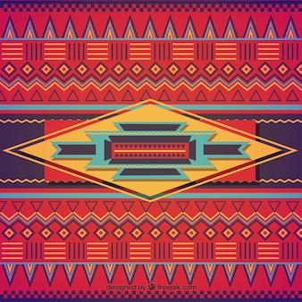 Origem étnica no estilo colorido