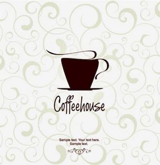 Originais xícara de café vector