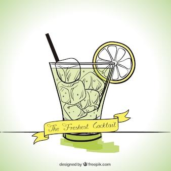 Os mais frescos cocktail