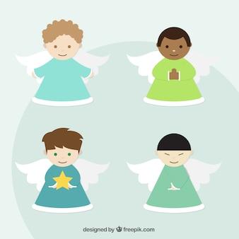 Pacote de anjos felizes