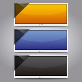 Pacote de ecrã panorâmico