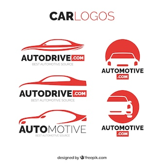 Pacote de logotipos do carro
