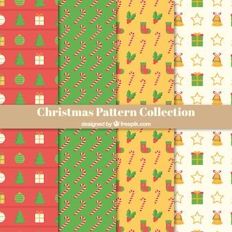 Pacote de padrões de Natal