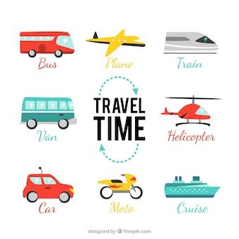 Pacote de tempo de viagem