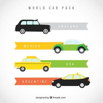 Pacote táxis mundo
