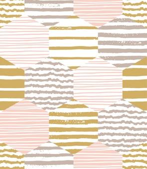 Padrão abstrato geométrico abstrato. Modelo de vetor