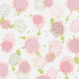 Padrão cupcakes