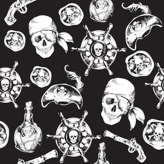 Padrão de pirata