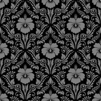 Padrão decorativo floral