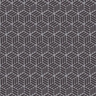 Padrão de tranças stylish textura sem fim