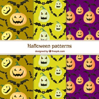 Padrões de abóbora de Halloween